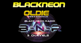 Black Neon Radio Oldie
