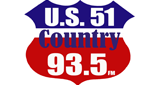 U.S. 51 Country 93.5 FM