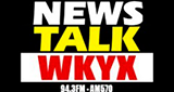 WKYX 570 AM and 94.3 FM