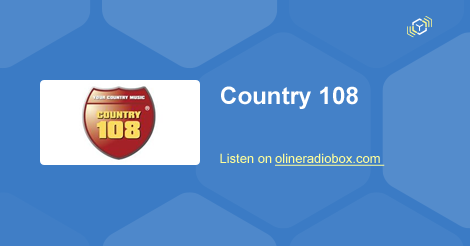 Country 108 live hören — Webradio | Online Radio Box
