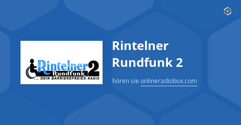 Rintelner Rundfunk 2 Streaming Rinteln Jerman Online Radio Box