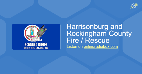 Harrisonburg and Rockingham County Fire / Rescue Listen Live