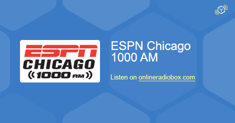 Espn Chicago Listen Live Wmvp 1000 Khz Am Chicago