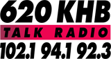 94.1 FM and 620 AM KHB