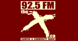 92.5 FM The X
